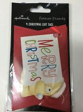 8 Luxury Hallmark Christmas Forever Friends Gift tags  -  Deluxe 11484784