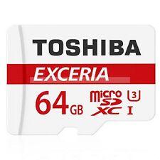 Toshiba Micro SDHC  64 GB Exceria Class 10 90MB/s Flash Memory Card  New ct