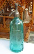 bouteille à siphon Pyramidale - a gérard - eaux de seltz - limonade asnières