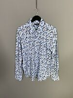 TED BAKER Shirt - Size 6 XXL - Blue - Great Condition - Men's