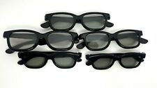 Real D Passive 3D Glasses Lot of 5: 3 Adults, 2 Children
