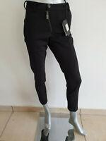Trousers Primo Emporio Mens 12 1655 2211 8057 Elegant Black Genuine New
