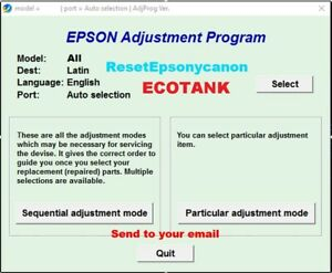 Reset Epson ET2720/26 ET2610 2714,ET2550,2650 Et4700 ET4550 4500 14000✅1Pc🔥⭐⭐⭐⭐