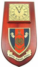 ROYAL MARINES POOLE CLASSIC HAND MADE TO ORDER  WALL CLOCK