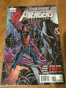 THE NEW AVENGERS COMIC BOOK # 32 END TIMES MARVEL 2012