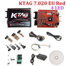 KTAG 4 LED V7.020 K-Tag EU Online Version V2.23 Red PCB No Tokens DHL Free Ship
