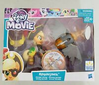 My Little Pony the Movie Guardians of Harmony Applejack Pirate Pony NIB