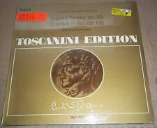 Toscanini BEETHOVEN Septet Op.20, Quartet Op.135 - RCA AT 144 SEALED