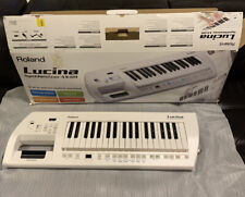 Roland Lucina AX-09 Shoulder 37-Key Digital Synthesizer Keyboard Keytar CLEAN