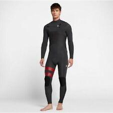 $280 Men's Hurley Advantage Plus Wetsuit 4/3 FullSuit Anthracite MS M MT LS XL