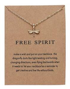 Dragonfly Necklace Jewelry