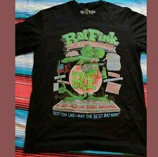 'ED BIG DADDY ROTH' MENS 'L' T SHIRT 'RATFINK' Surf Hot Rod Chopper Harley Da