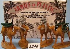 Unpainted Plastic British 1751-1815 2-5 Toy Soldiers