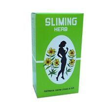 50 TEA BAGS SLIMMING GERMAN HERB DETOX LOSS WEIGHT LAXATIVE DIET FAT BURN FIT