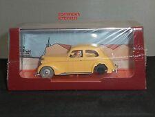 Tintin livre comic crabe avec golden griffes diecast modèle auto jaune + figure