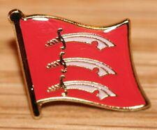 Essex England County Flag Enamel Pin Badge UK Great Britain