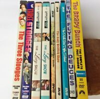 Lot of 9 DVD's: Brady Bunch/Laurel & Hardy/Dick Van Dyke/Lucy/Andy Griffith/More