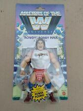 Masters Of The WWE Universe Hot Rod Roddy Piper.  MOTU He-Man Walmart Exclusive