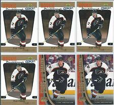 Jeff Carter  05/06  10-RC & Rookie Year Lot  w/Jersey Card