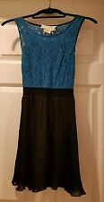 Coincidence And Chance- Urban Outfitters- Blue Lace - size xs