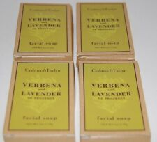 4 CRABTREE & EVELYN Verbena & Lavender FACIAL Soap 1 oz each NEW Lot / Set Hotel