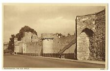 Southampton, The Old Walls Sepia PPC Unposted by Photochrom