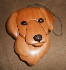 Wooden Dog (Puzzle-Style) Ornament - Very Nice