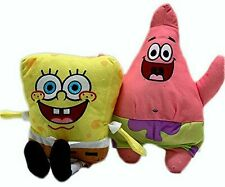 Spongebob and Patrick 6 Inch Stuffed Plush Doll Toy Set of 2