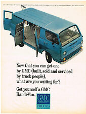 Vintage 1965 Magazine Ad GMC Trucks Built Sold And Serviced By Truck People