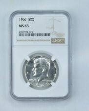 MS63 1966 Kennedy Half Dollar - Graded NGC *157