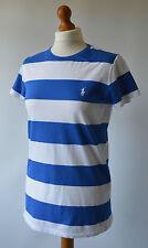 Filles Ralph Lauren sport bleu & blanc femme taille xl ou femme taille 8