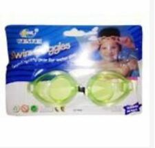 Swim Glasses Swimming Goggles with Earplugs - Light Green