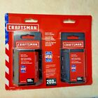 200 Pack Craftsman Heavy-Duty Utility Blades & 2 Knives (CMHT11921A)- New USA