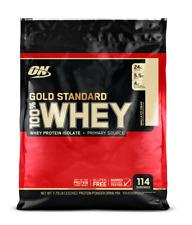 Optimum Gold Standard 100% Whey Protein 10 Lb Vanilla Ice Cream
