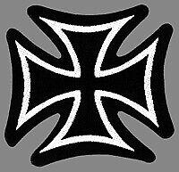 Iron Cross Patch Aufnäher