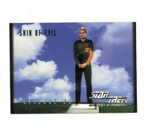 1994 STAR TREK THE NEXT GENERATION SHIN OF EVIL CARD # 78 FREE SHIPPING