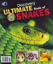 DISCOVERY - ULTIMATE BOOK OF SNAKES - OVER 200 PHOTOS! (2014) NEW - FREE SHIP!