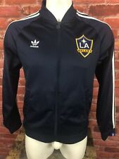 LA Galaxy Adidas Navy Medium Jacket Trefoil Logo -D43
