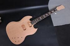 1set Guitar Kit Guitar Body Neck 22 Fret Electric Guitar rosewood Fretboard New