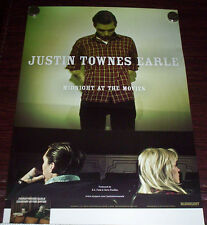 JUSTIN TOWNES EARLE Kids In The Street 2017 Ltd Ed RARE Poster FREE Folk Poster