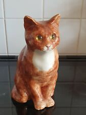 More details for winstanley ginger tabby cat size 4 signed