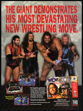 WCW vs. NWO World Tour__Original 1998 print AD / N64 game promo__The Giant