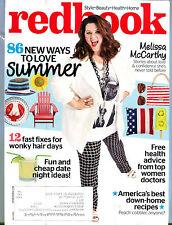 Redbook Magazine July 2014 Melissa McCarthy EX 032216jhe
