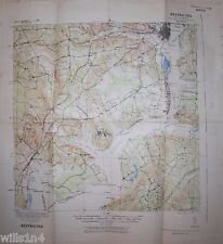 WWII Army Map US 29th Division 82nd Combat Eng. aerial Photo Map Fort Belvoir