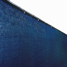 ALEKO Fence Privacy Screen Outdoor Backyard Fencing Windscreen 4 x 25 Ft  Blue