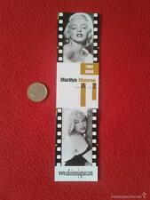 MARCAPÁGINAS PUNTO DE LIBRO BOOK MARK BOOKMARK MARILYN MONROE EDICIONES JAGUAR V