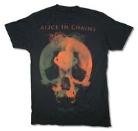Alice In Chains Fetal Tour 2015 Black T Shirt New Official Adult Hollow
