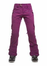686 2017 Women's Authentic Mistress Insulated Snow Pants - Mulberry - L - NWT