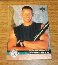 1997 Upper Deck Seattle Mariners Baseball Card #500 Alex Rodriguez
