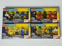 Minifigures by Make-it Blocks Demolition 5-ct Pack Compatible with Leading Brand Building Bricks